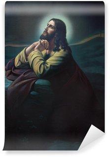 Fototapeta Vinylowa Modlitwa Jezusa w ogrodzie Getsemani.