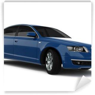 Vinylová Fototapeta Modrá Business-Class Car