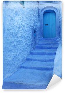 Vinylová Fototapeta Modrá Medina Chechaouen, Maroko