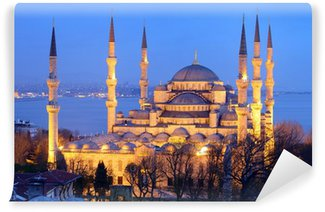 Vinylová Fototapeta Modrá mešita Istanbul