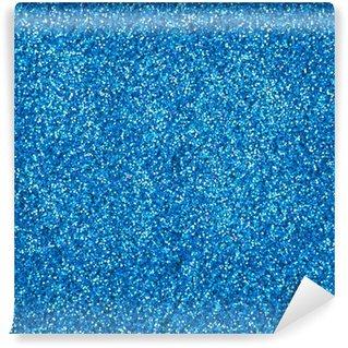 Vinylová Fototapeta Modré třpytky make-up pudr textury