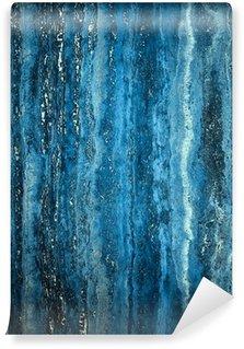 Vinylová Fototapeta Modrý mramor kámen
