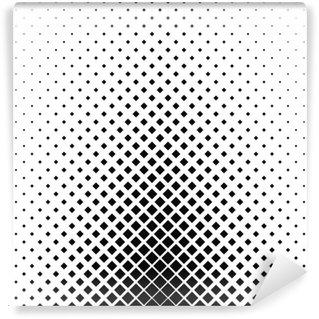 Vinylová Fototapeta Monochromatický čtvercový vzor pozadí design