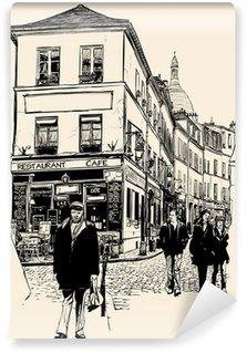 Vinylová Fototapeta Montmartre Paris