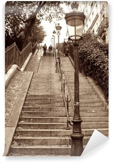 Fototapeta Winylowa Montmartre Paryż