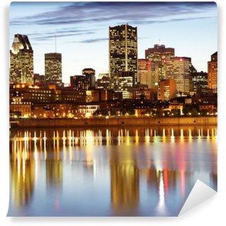 Vinylová Fototapeta Montreal panorama za soumraku, Quebec, Kanada