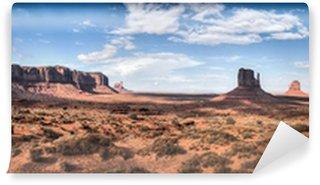 Vinylová Fototapeta Monument Valley panoramatický výhled