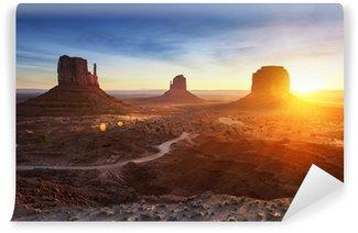 Vinylová Fototapeta Monument Valley při východu slunce