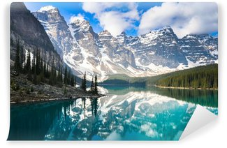 Vinylová Fototapeta Moraine Lake, Skalnaté hory (Kanada)