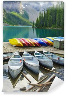 Vinylová Fototapeta Moraine Lake