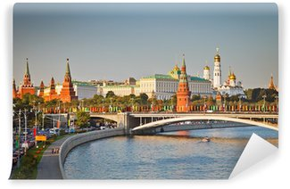 Vinylová Fototapeta Moskva Kreml při západu slunce