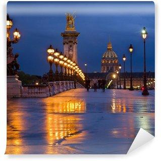 Vinylová Fototapeta Most Alexandra III, Paříž, Francie