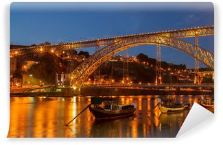 Vinylová Fototapeta Most Dom Luis, Portugalsko