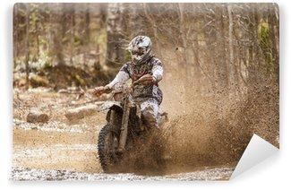 Vinylová Fototapeta Motocross Dirt Driver