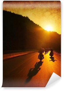 Vinylová Fototapeta Motocykl jízda