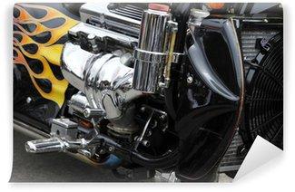 Vinylová Fototapeta Motorrad Motor