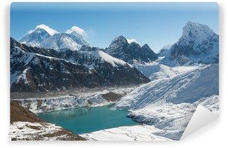 Vinylová Fototapeta Mount Everest, Lhotse a Gokyo Lake, Himaláj, Nepál