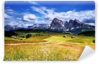 Vinylová Fototapeta Mountain, Dolomity, Alpe di Siusi, Itálie