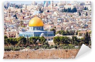 Vinylová Fototapeta Mousque Al-Aqsa ve Starém Městě - Jeruzalém, Izrael