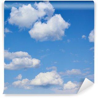Vinylová Fototapeta Mraky na modré obloze