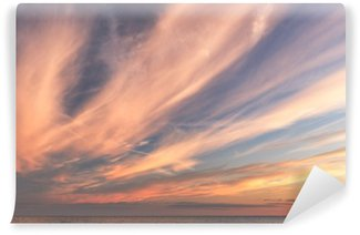 Vinylová Fototapeta Mraky při západu slunce