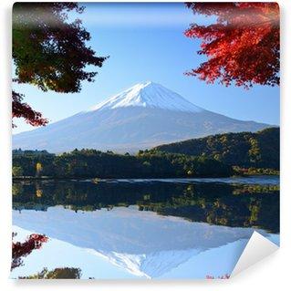 Vinylová Fototapeta Mt. Fuji na podzim od jezera Kawaguchi, Japonsko