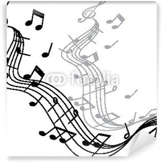 Vinylová Fototapeta MUSIC 2