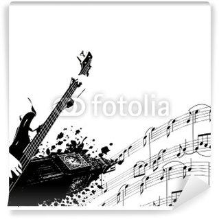 Vinylová Fototapeta Music anglie