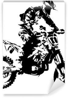 Vinylová Fototapeta Mx rider