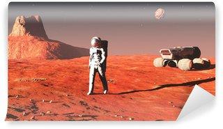Vinylová Fototapeta Na Marsu