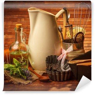 Fototapeta Winylowa Naczynia do gotowania kuchnia ód