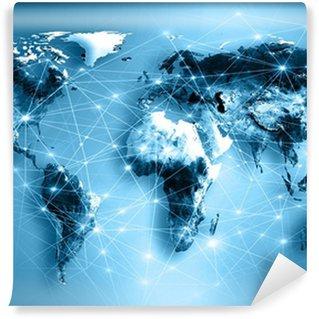 Fototapeta Vinylowa Najlepsza Koncepcja Internet globalnego biznesu