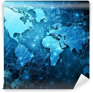 Fototapeta Vinylowa Najlepszy internet concept globalnego biznesu z serii koncepcje