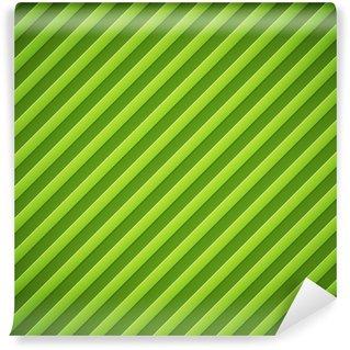 Vinylová Fototapeta Narazil pruhy zelené pozadí