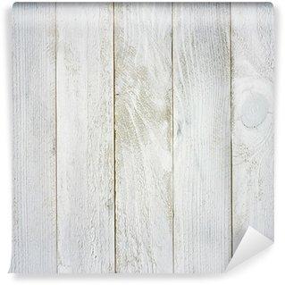 Vinylová Fototapeta Natřený na šedo dřevěná prkna textura