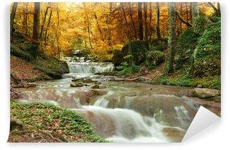 Fototapeta Vinylowa Natural Spring wodospad