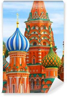 Vinylová Fototapeta Nejslavnější místo v Moskvě, katedrála Vasila Blaženého, Russia