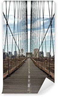 Fototapeta Vinylowa New York - Brooklyn Bridge