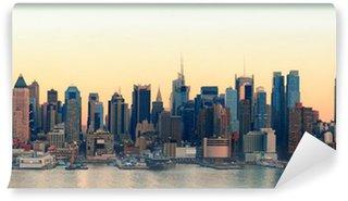 Vinylová Fototapeta New York City slunce