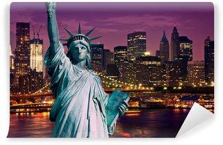 Vinylová Fototapeta New York Manhattan rozhodnout de la Liberté