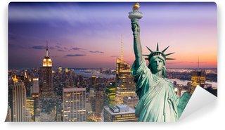 Vinylová Fototapeta New York socha Liberté