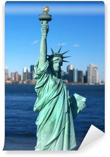 Vinylová Fototapeta New York: Socha Svobody, americký symbol. Spojené státy americké