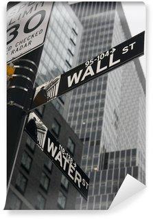 Fototapeta Vinylowa New York Wall Street