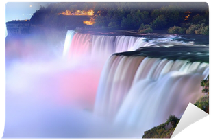 Fototapeta Winylowa Niagara Falls w kolorach