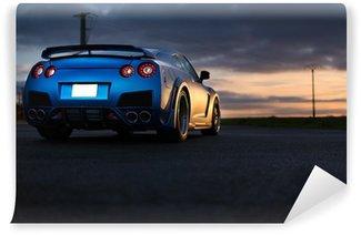 Vinylová Fototapeta Nissan gtr