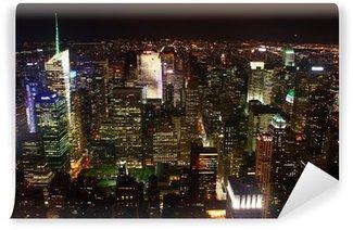 Vinylová Fototapeta Noční krajina z New Yorku