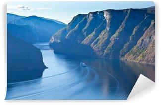 Vinylová Fototapeta Norsko - Fjord region