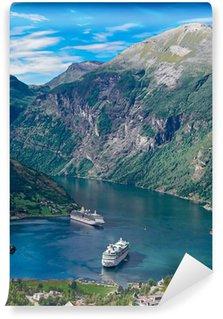 Vinylová Fototapeta Norsko, Geiranger fjord