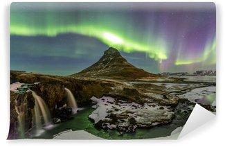 Vinylová Fototapeta Northern Light Aurora Borealis