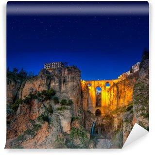 Vinylová Fototapeta Obec Ronda v Andalusii ve Španělsku
